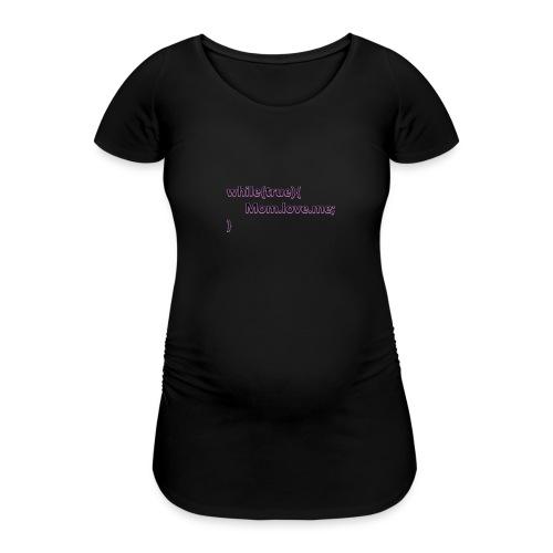 Mom love me - Camiseta premamá
