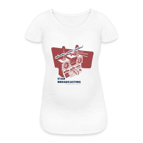 numbers stations hi - Women's Pregnancy T-Shirt