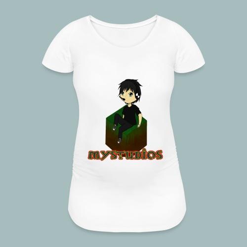 Mystudios Kissen - Frauen Schwangerschafts-T-Shirt