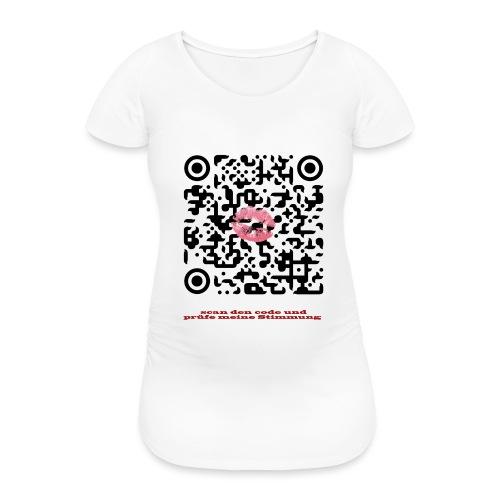 Stimmungsbarometer - Frauen Schwangerschafts-T-Shirt
