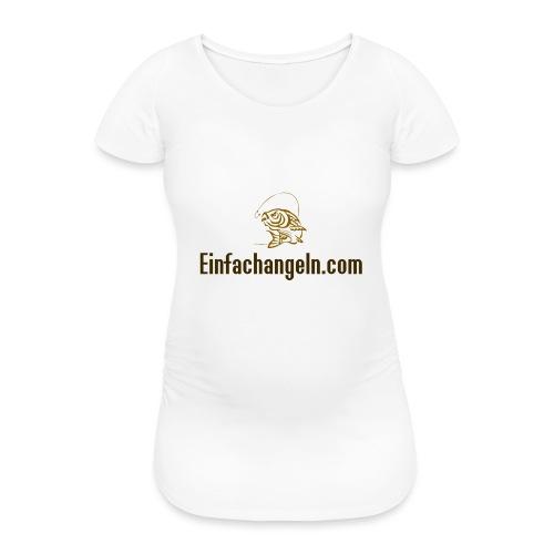 Einfachangeln Teamshirt - Frauen Schwangerschafts-T-Shirt