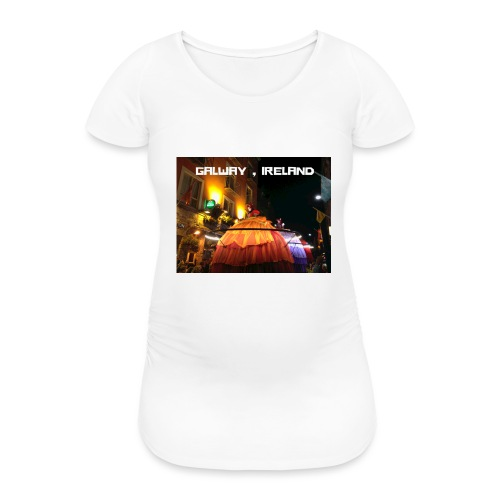 GALWAY IRELAND MACNAS - Women's Pregnancy T-Shirt