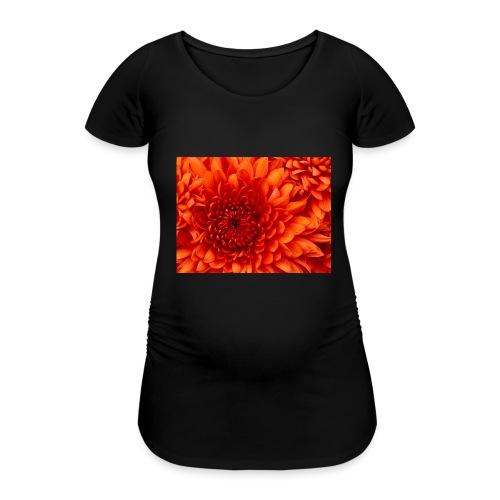Chrysanthemum - Vrouwen zwangerschap-T-shirt