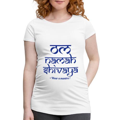 OM NAMAH SHIVAYA - Maglietta gravidanza da donna
