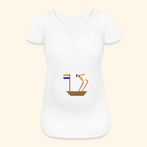 VOC-mentaliteit - Vrouwen zwangerschap-T-shirt