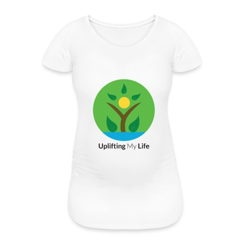 Uplifting My Life Official Merchandise - Women's Pregnancy T-Shirt