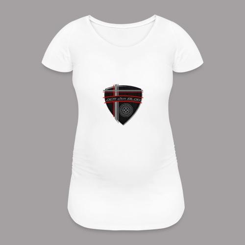 2erblogLogo blank png - Frauen Schwangerschafts-T-Shirt