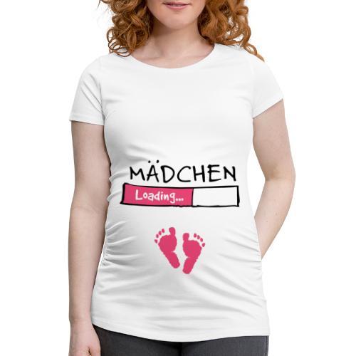 Mädchen loading // Schwangerschaft T-Shirt - Frauen Schwangerschafts-T-Shirt