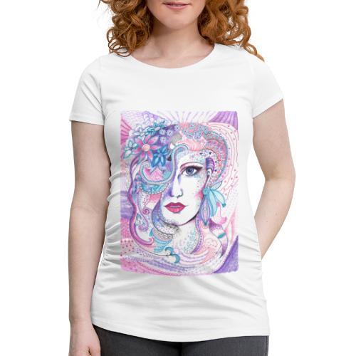Tant Gredelin - Gravid-T-shirt dam