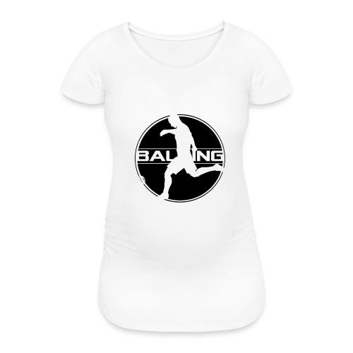 Balling - Vrouwen zwangerschap-T-shirt
