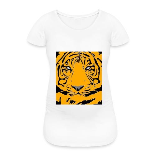 Tiger - Frauen Schwangerschafts-T-Shirt