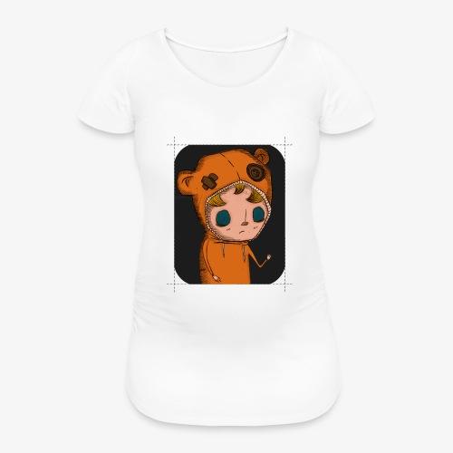 KOZY PILL - (Dotted) - Women's Pregnancy T-Shirt