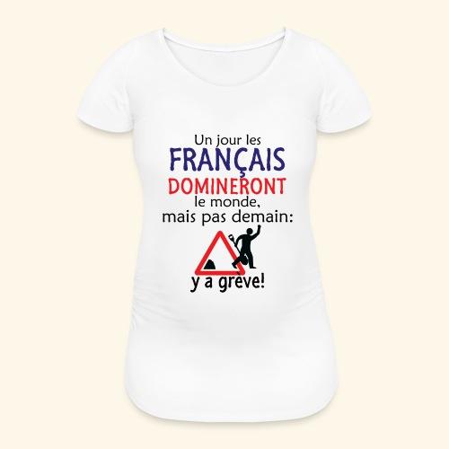 domination française - T-shirt de grossesse Femme