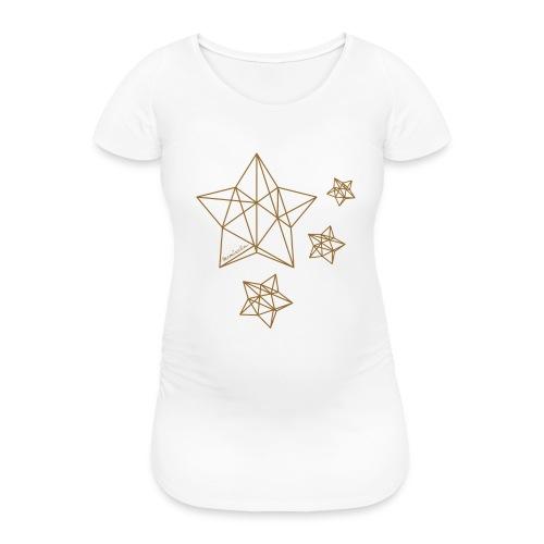 Sternenhimmel Diamant - Frauen Schwangerschafts-T-Shirt