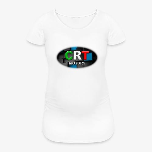 CRT Logo - Women's Pregnancy T-Shirt