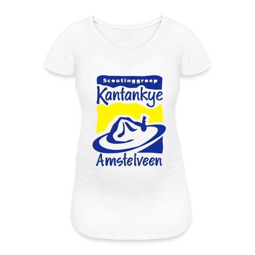 logo simpel 2 - Vrouwen zwangerschap-T-shirt