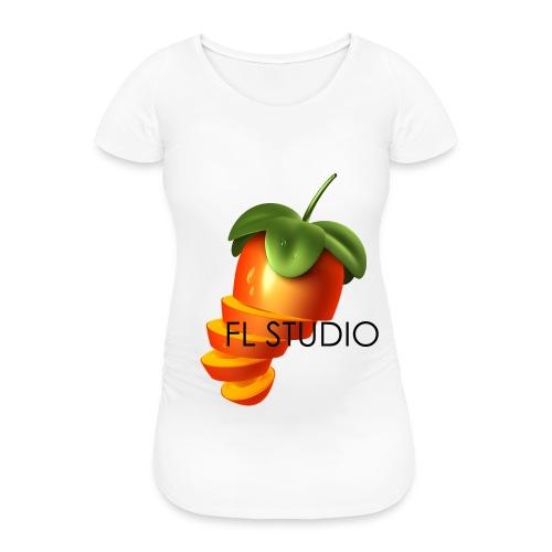 Sliced Sweaty Fruit - Women's Pregnancy T-Shirt