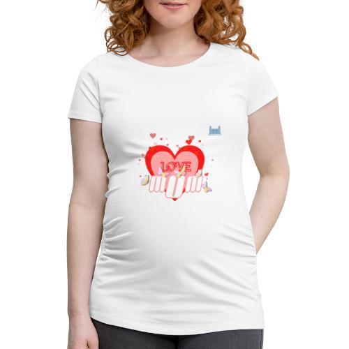 Love U Mum - Women's Pregnancy T-Shirt
