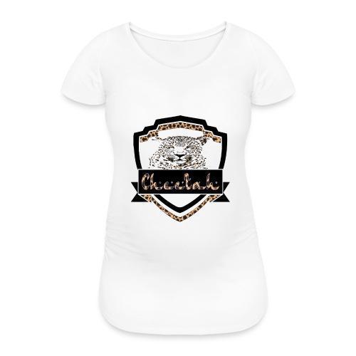Cheetah Shield - Women's Pregnancy T-Shirt