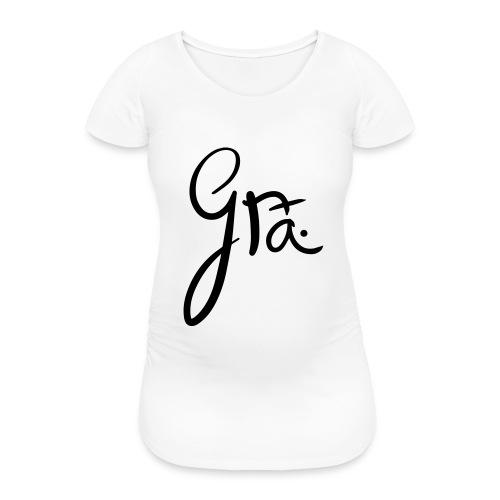 logo-trans-ai - Vrouwen zwangerschap-T-shirt