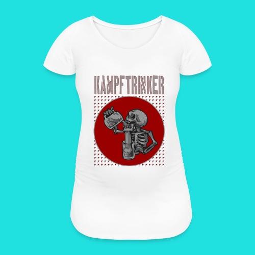 Kampftrinker - Frauen Schwangerschafts-T-Shirt