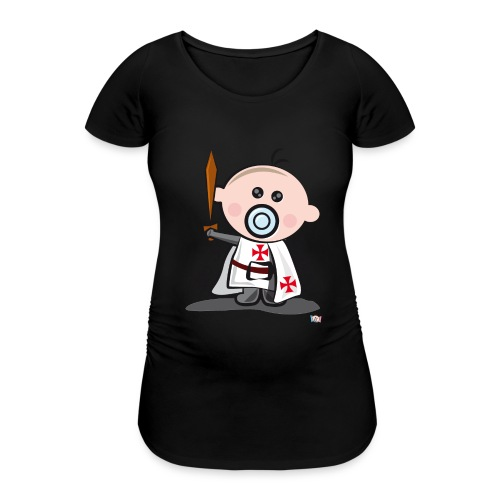 Hijo de templario - Camiseta premamá