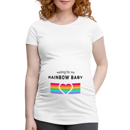 rainbow - Frauen Schwangerschafts-T-Shirt