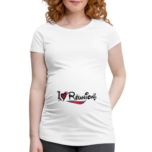 i love Réunion - MAHAVELI - T-shirt de grossesse Femme