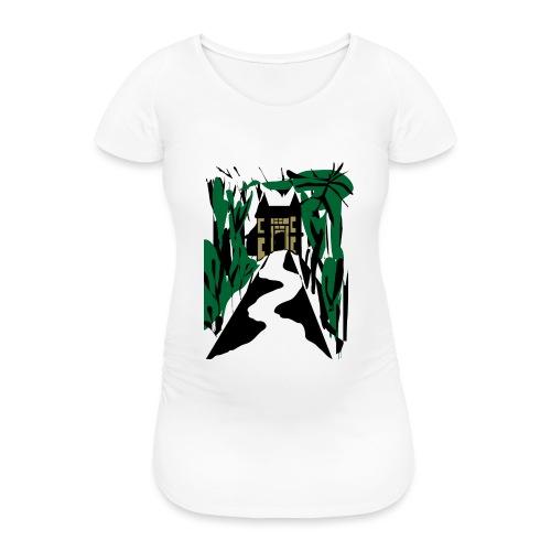 HALLOWEEN SPOOKY HAUNTED MANSION 2017 - Frauen Schwangerschafts-T-Shirt