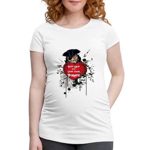 love your pirate - Maglietta gravidanza da donna