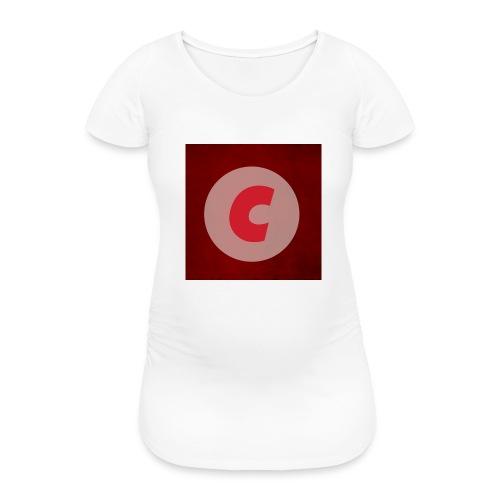 Original Cutox Handyhuelle - Frauen Schwangerschafts-T-Shirt