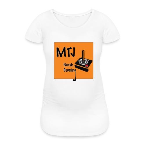 Mtj Logo - T-skjorte for gravide kvinner