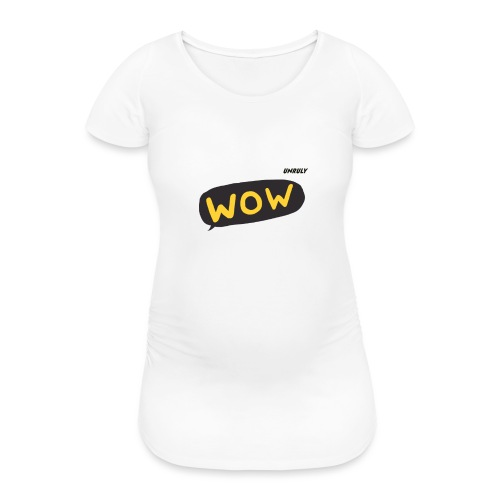 WoW Shirt - Women's Pregnancy T-Shirt