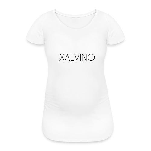 Xalvino (Black) - Vrouwen zwangerschap-T-shirt