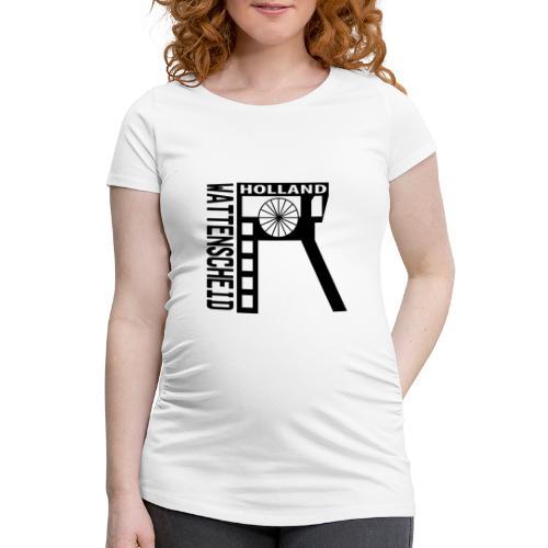 Zeche Holland (Wattenscheid) - Frauen Schwangerschafts-T-Shirt