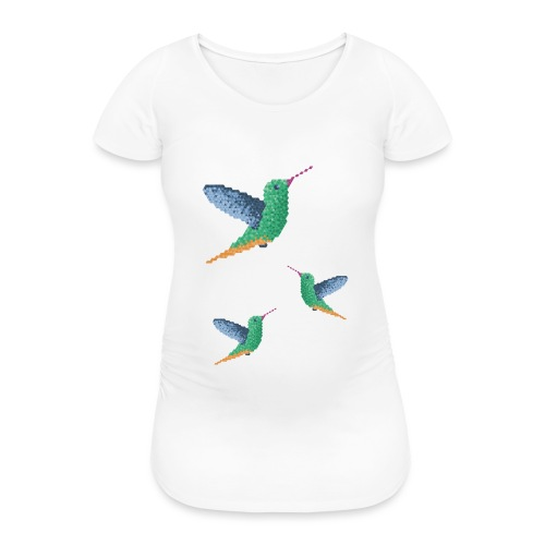Hummingbird - Group - Women's Pregnancy T-Shirt