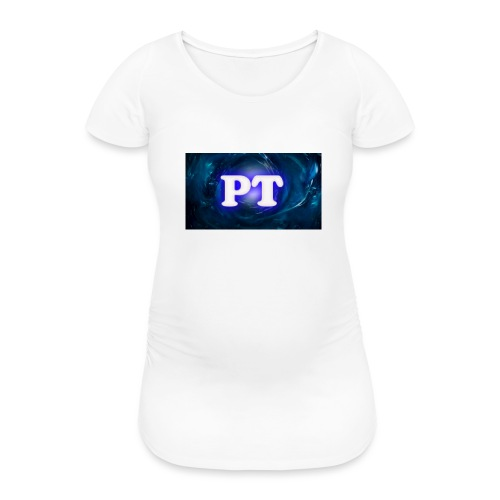 Project T Logo - Women's Pregnancy T-Shirt