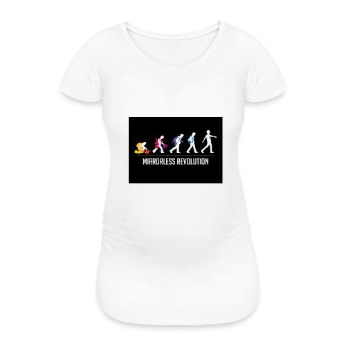 mirrorless evolution - Camiseta premamá