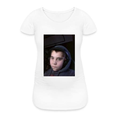 djyoutuber thisert - Vrouwen zwangerschap-T-shirt