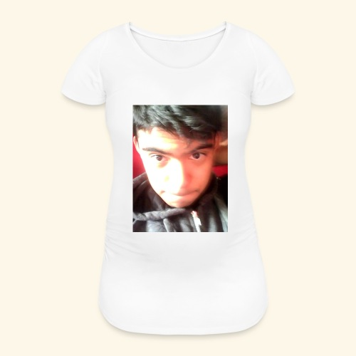 Diseño original Con mi cara :3 - Camiseta premamá