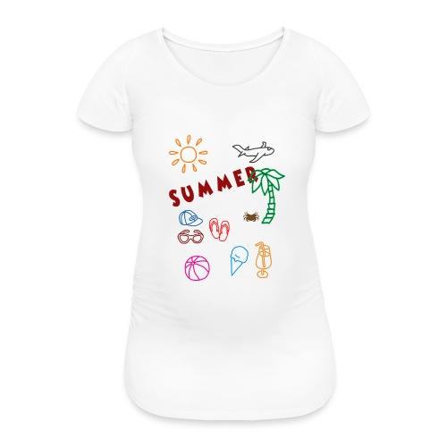 Summer - Naisten äitiys-t-paita