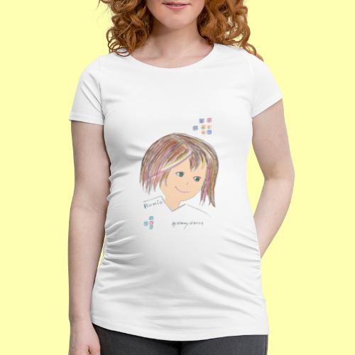 Pinni® Desing by Emmy Hanna - Frauen Schwangerschafts-T-Shirt