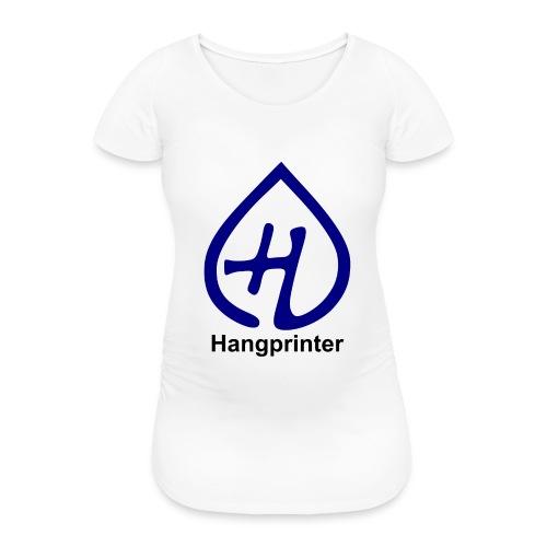Hangprinter logo and text - Gravid-T-shirt dam