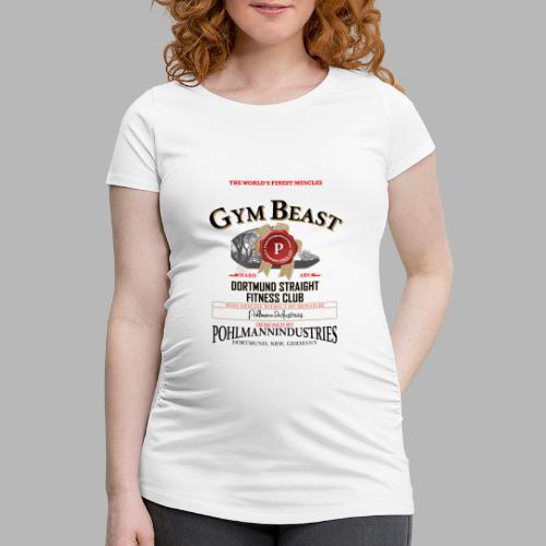 GYM BEAST - Frauen Schwangerschafts-T-Shirt