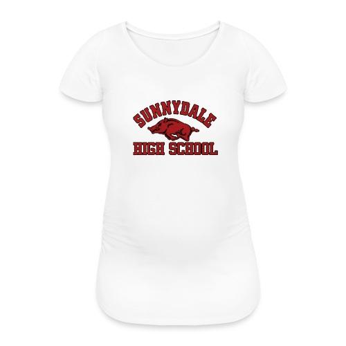 Sunnydale High School logo merch - Vrouwen zwangerschap-T-shirt