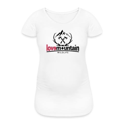 Mountain - Maglietta gravidanza da donna