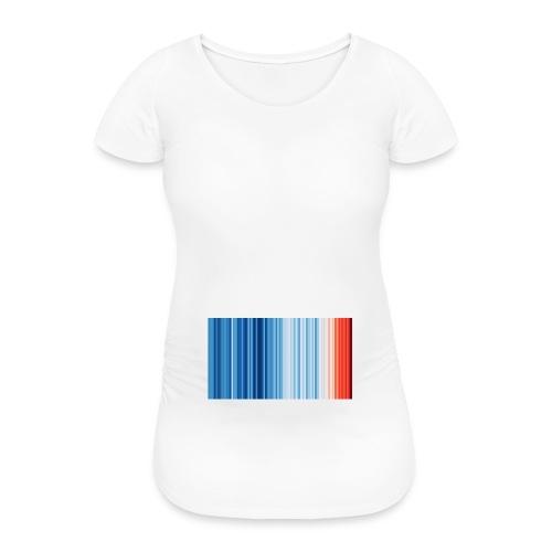 Klimawandel - Frauen Schwangerschafts-T-Shirt