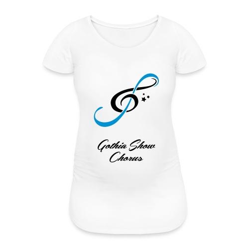 GothiaShowChorus_gklav vit - Gravid-T-shirt dam