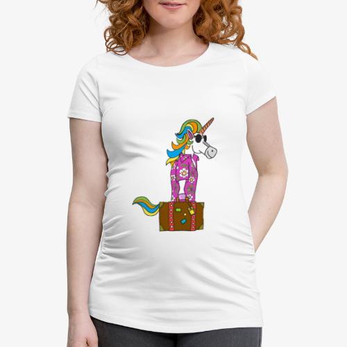 Unicorn trip - T-shirt de grossesse Femme