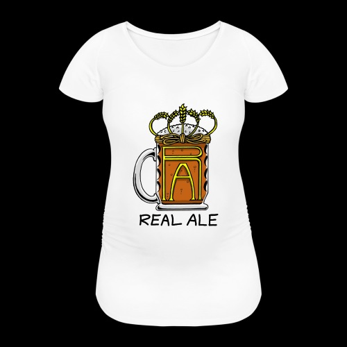 Real Ale - Women's Pregnancy T-Shirt